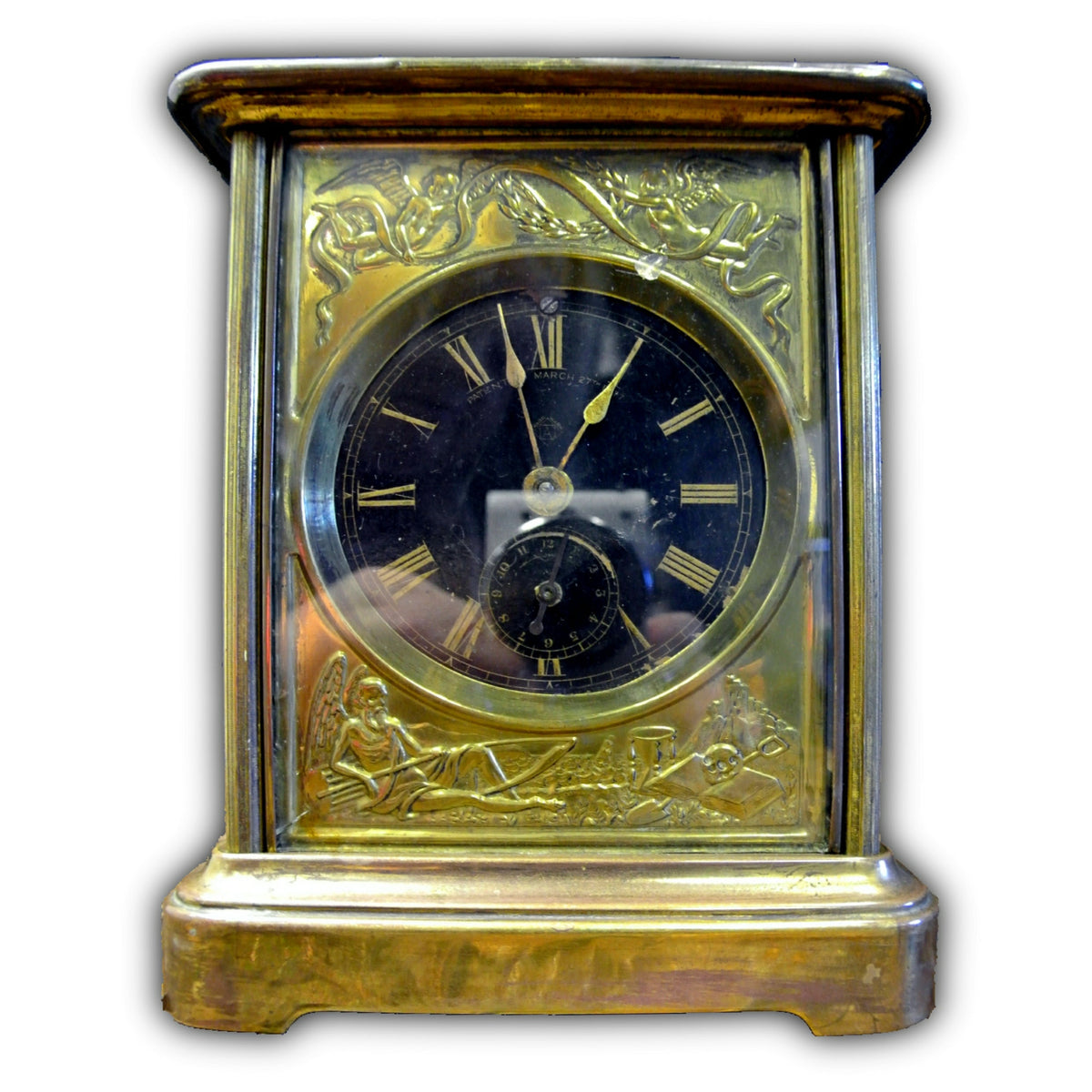 Ansonia Alarm Carriage Clock
