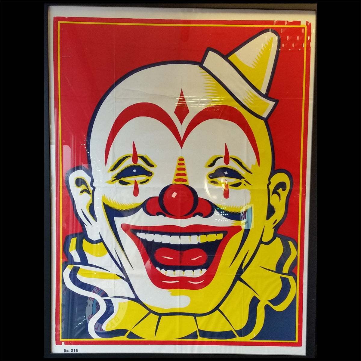 Clyde Beatty and Cole Bros Clown Poster