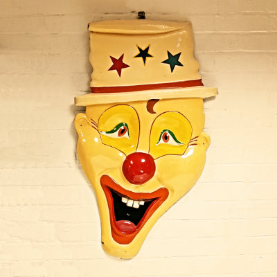 Fairground Clown Face