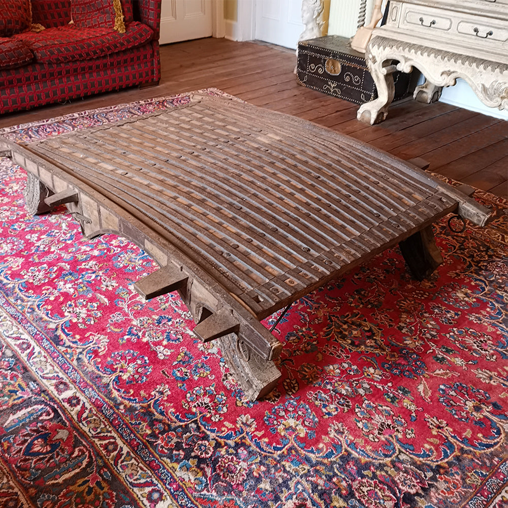 Elephant Saddle Coffee Table