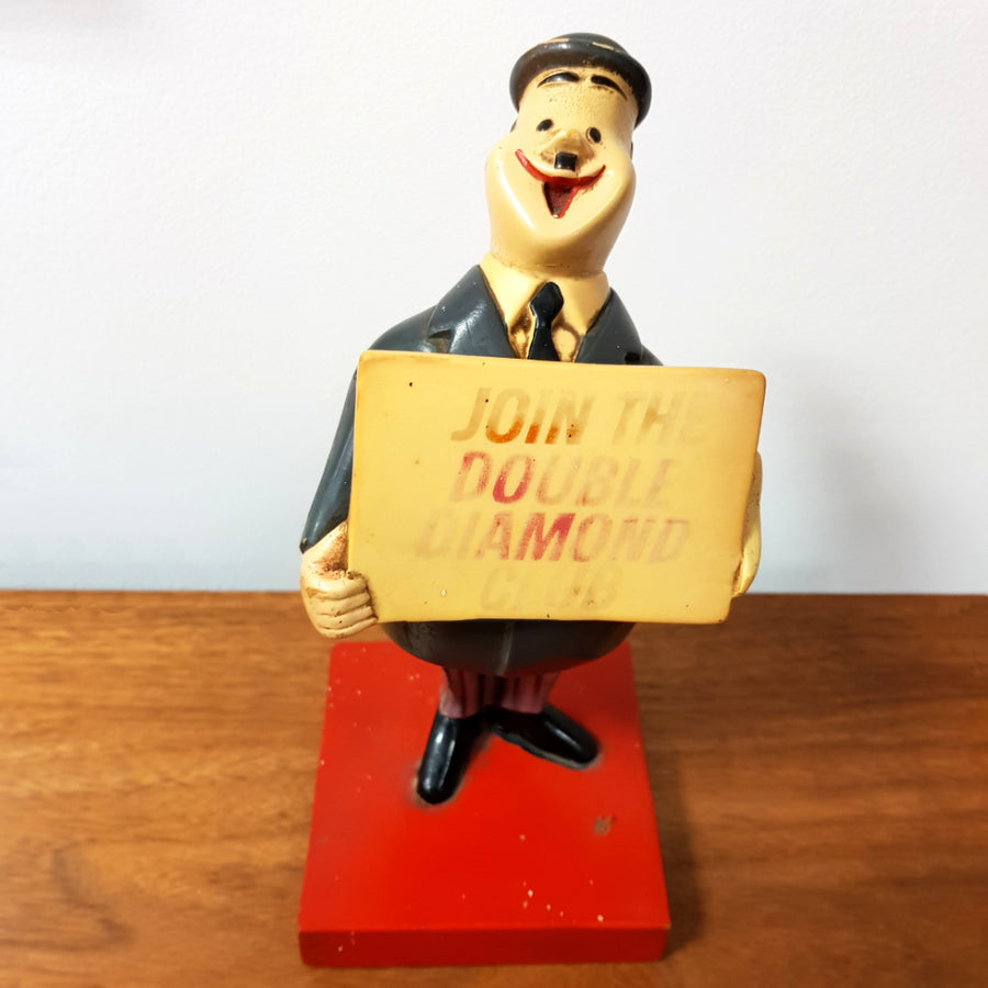 Double Diamond Advertising Figure