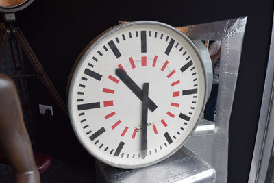 Large Vintage Industrial Clock
