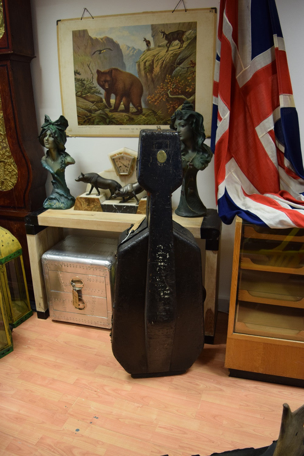 Antique Cello Case