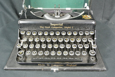 Imperial Travel Typewriter (with case)