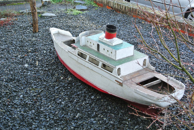 7' Model of an early 20th Century Transatlantic Steam Ship