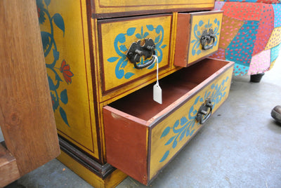 Handpainted Lamp Table