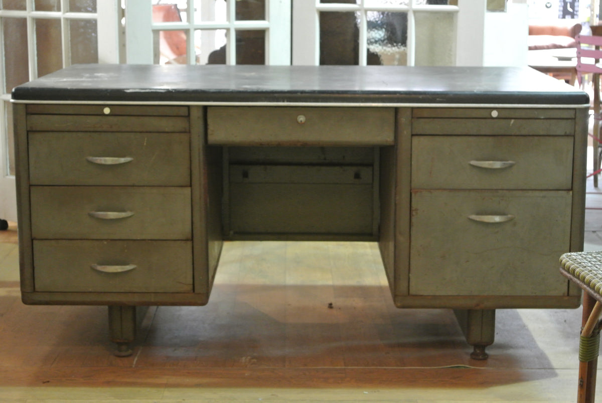 Vintage industrial desk