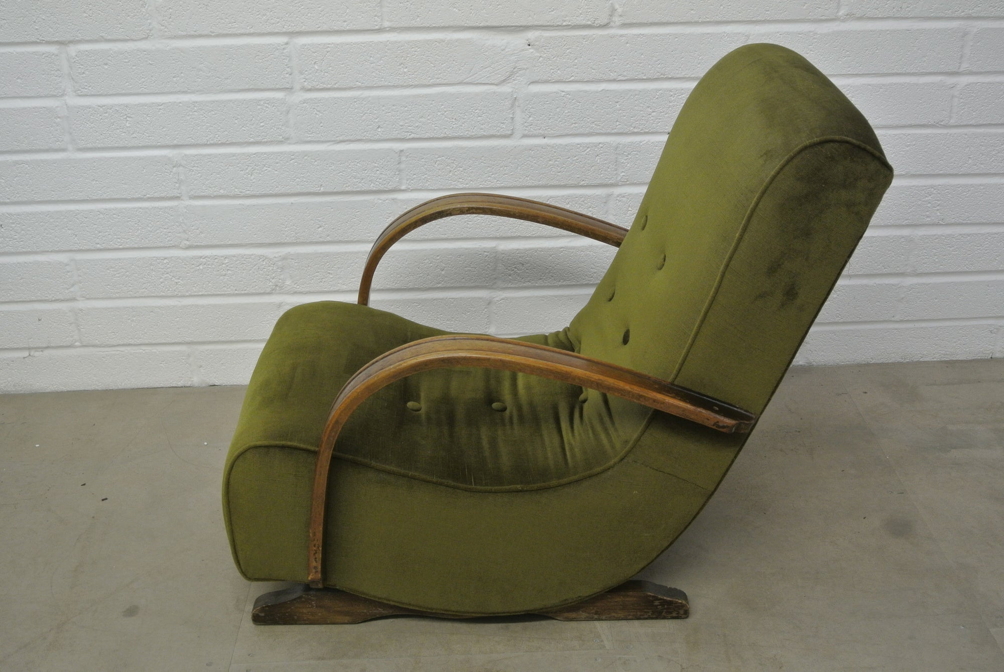 Attrayant 1930u0027s Bentwood Banana Rocking Chair