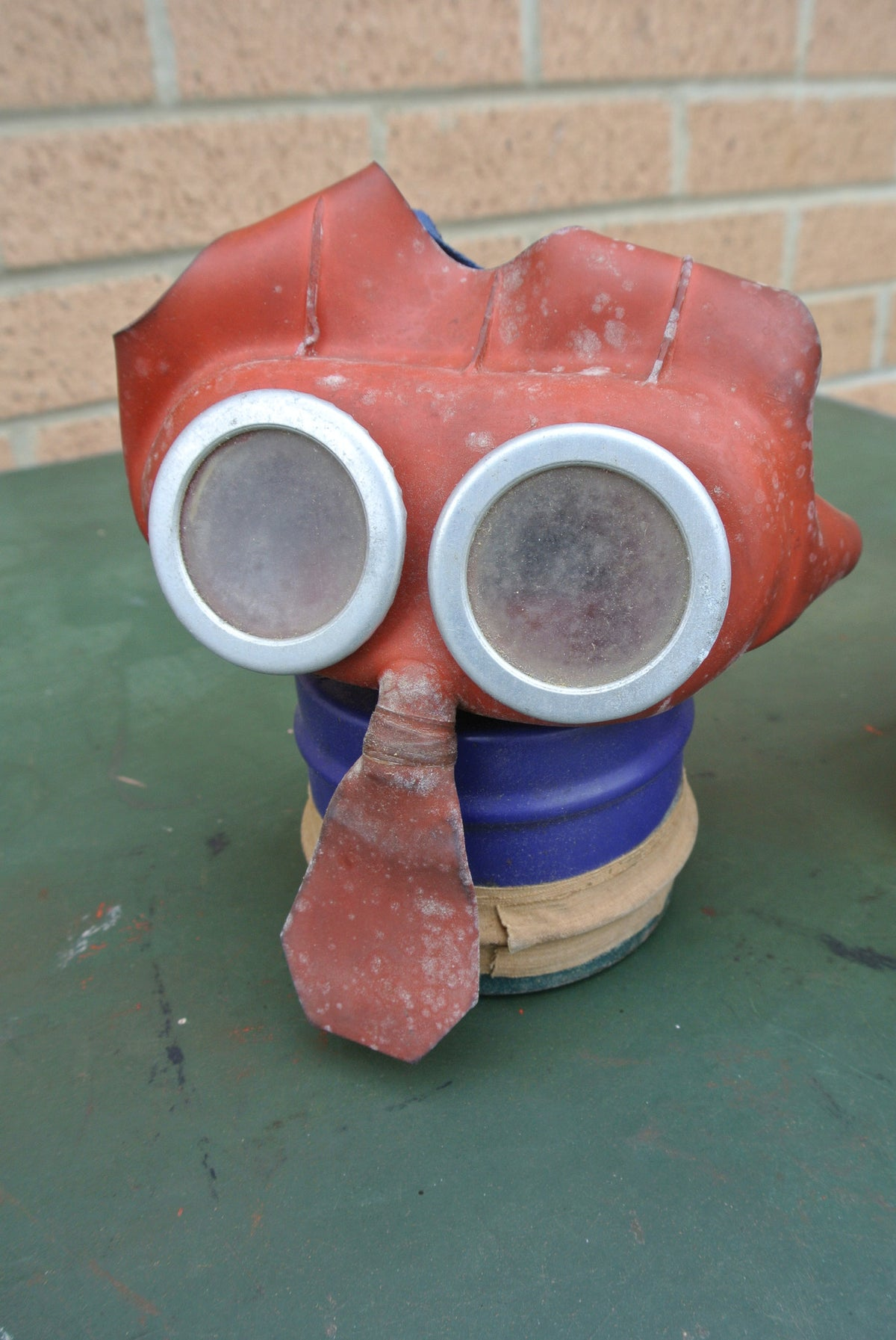 Vintage WW2 'Mickey Mouse' child's gas mask