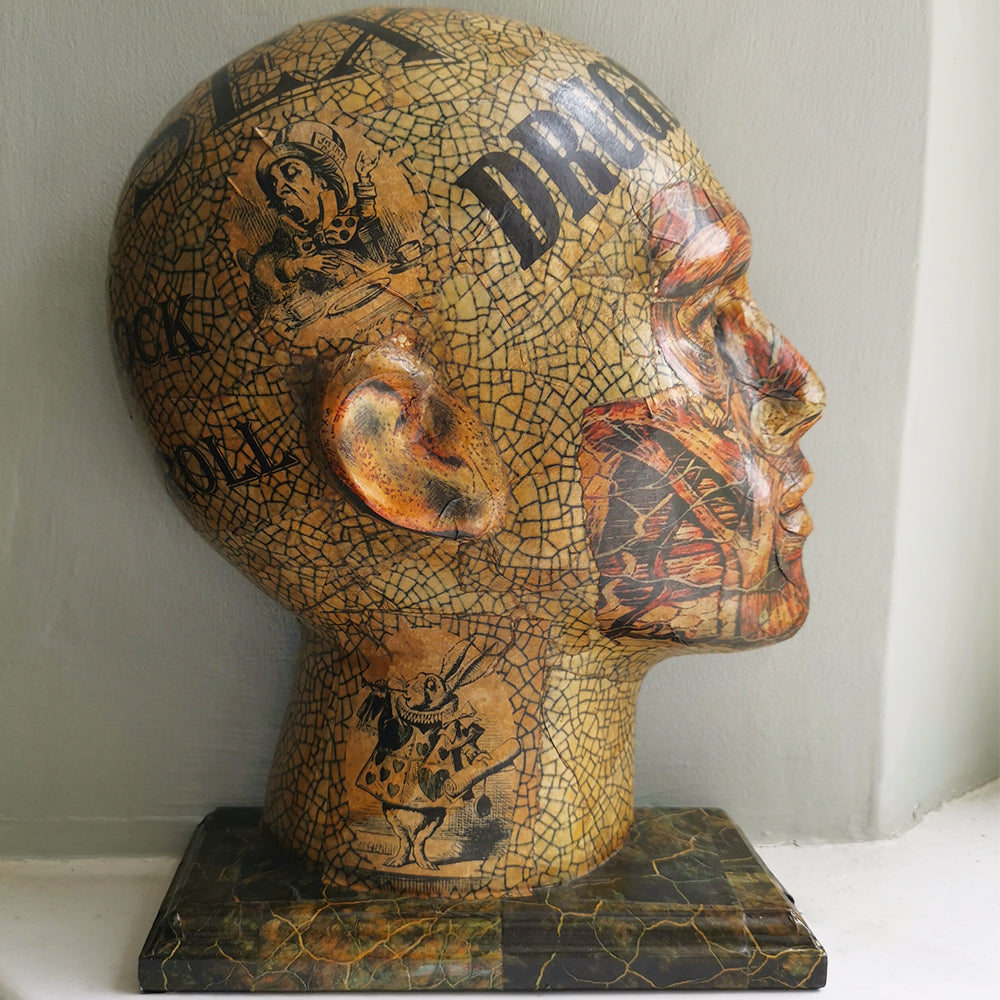 Decoupage Head