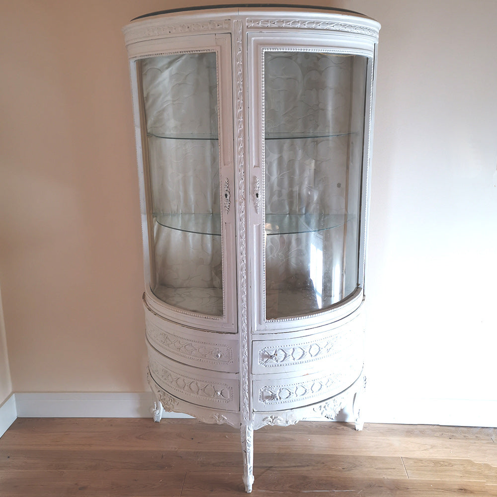 Demi Lune Display Cabinet