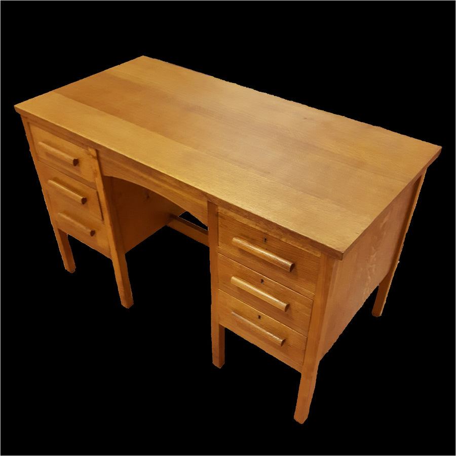 Oak Teacher's Desk