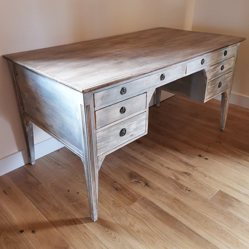 Painted Kneehole Desk