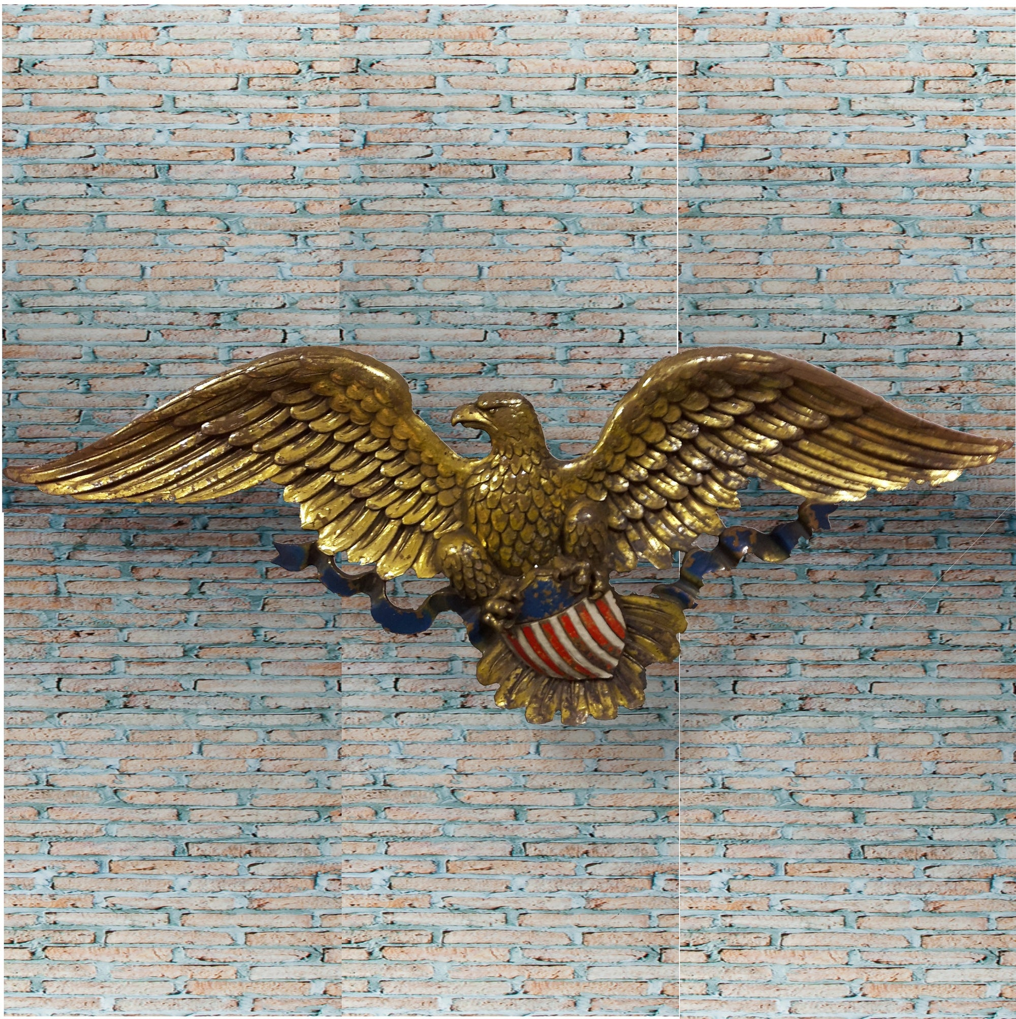 1950s American Eagle Wall Plaque - Home Alchemy