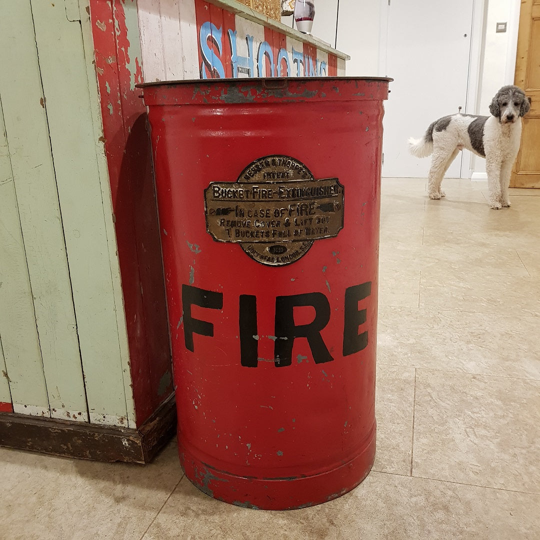 Messer & Thorpe Bucket Fire Extinguisher
