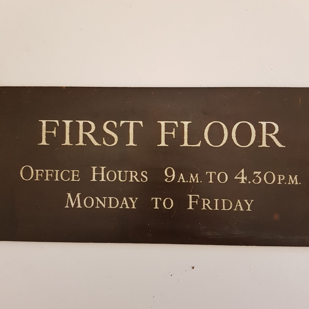 Large First Floor Office Hours