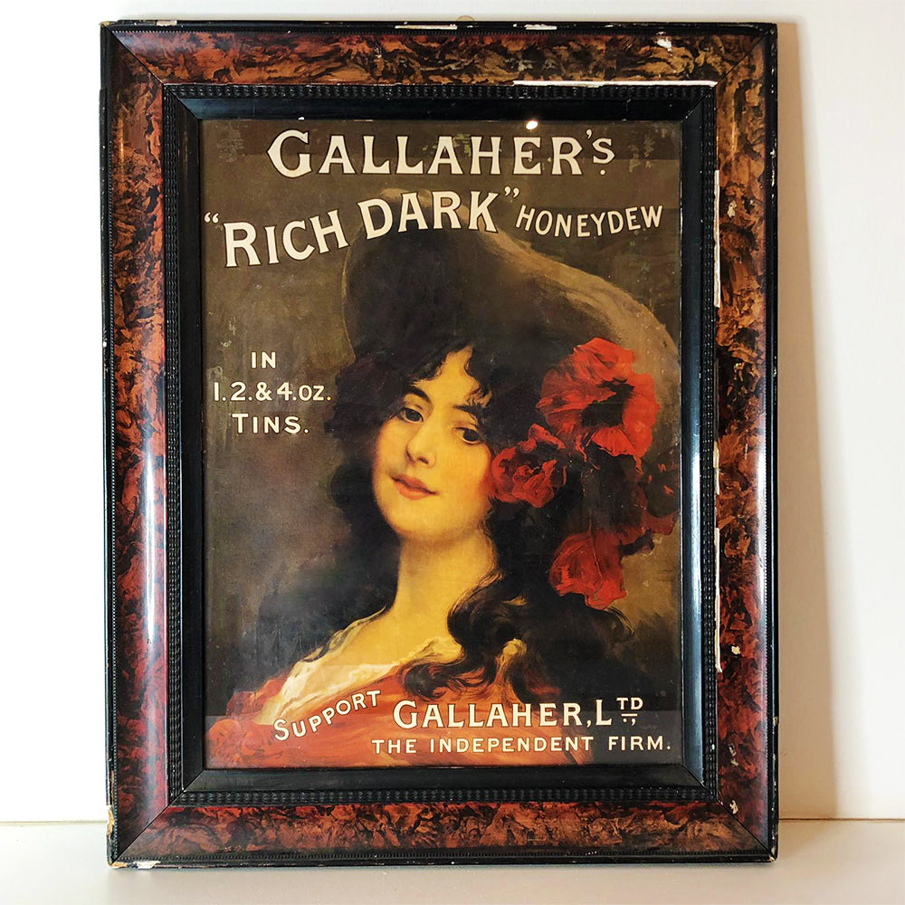 Gallaher Ltd Framed Advertisement