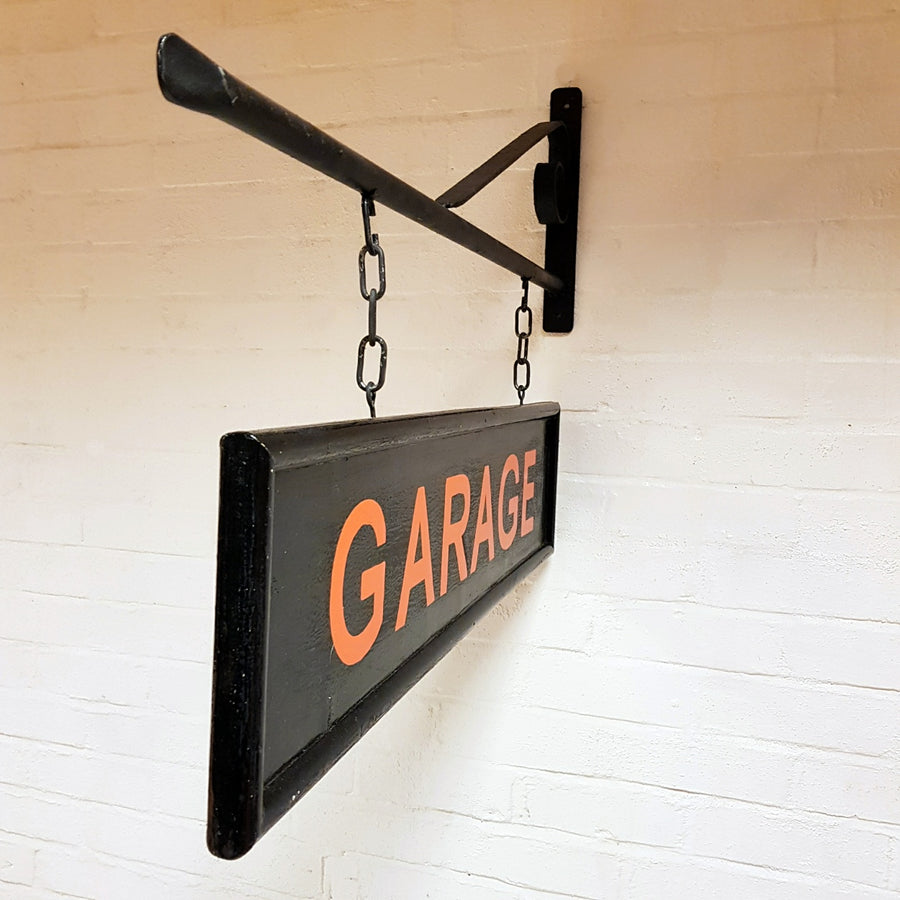 Hanging Garage Sign