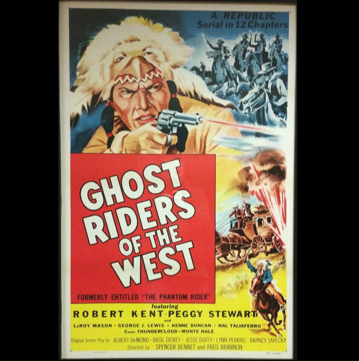 Ghost Riders of the West Movie Poster