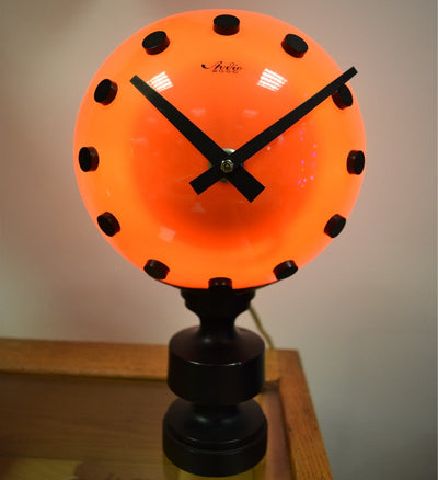 Illuminated Globe Clock