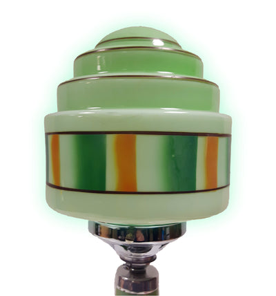 Art Deco Glass Globe