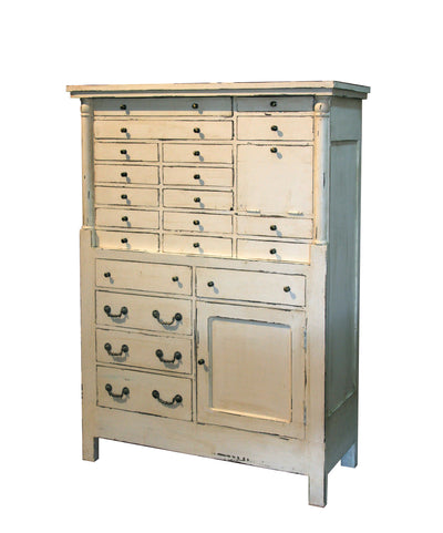 Multidrawer Cabinet - Victorian Farmhouse Style