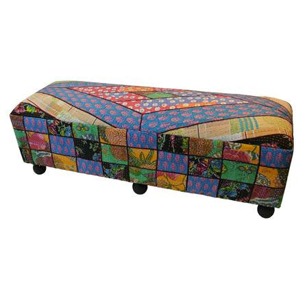 Large Patchwork Bench