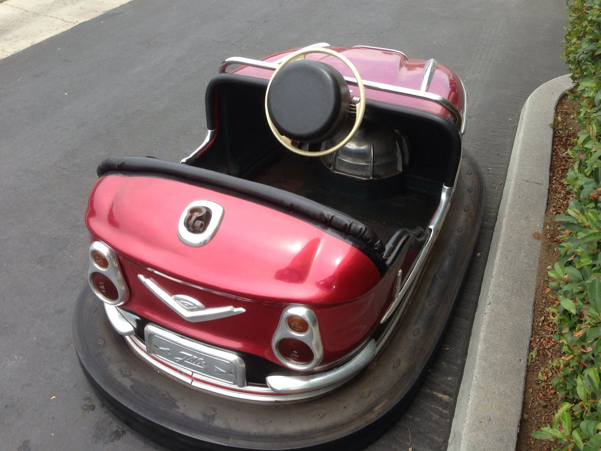 1962 Gebruder Ihle Bumper Car (Red)