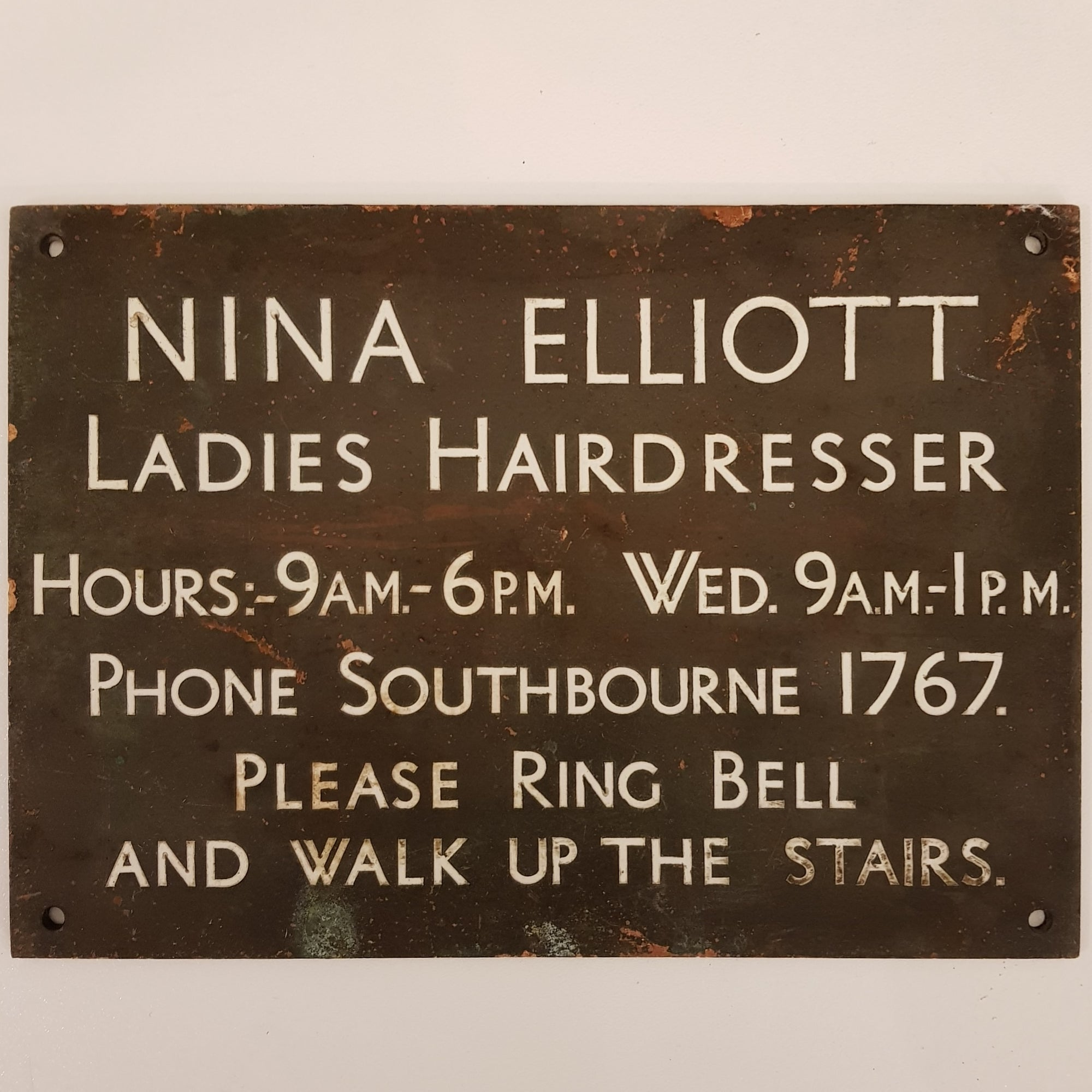 Hairdresser Sign
