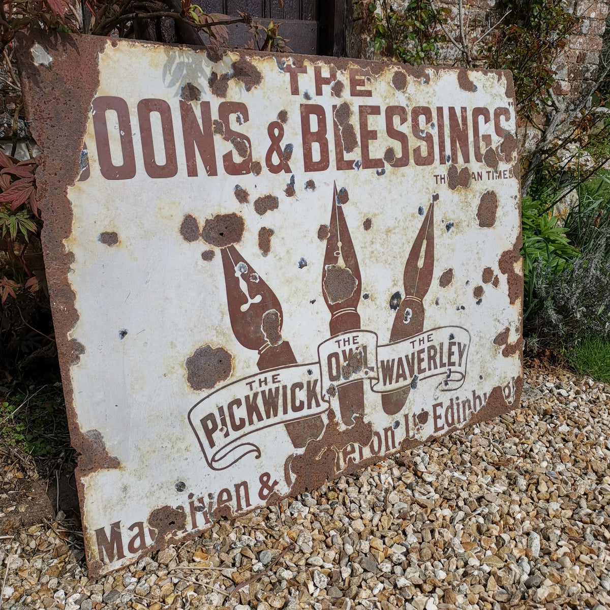 Boons & Blessings Sign