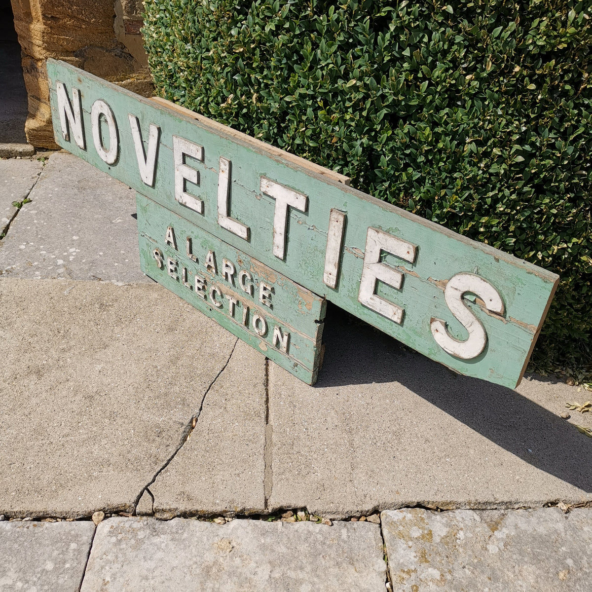 Novelties Sign