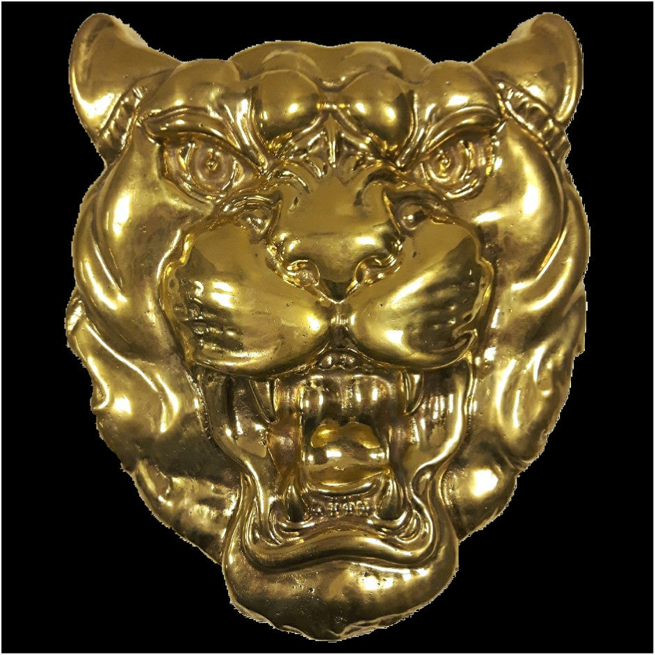 Brass Jaguar Plaque
