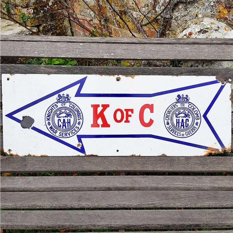 Knights of Columbus Sign