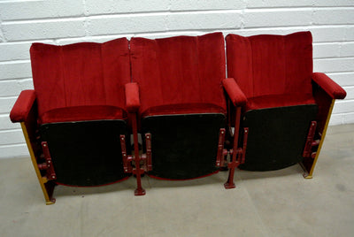 Red Deco Theatre Seats