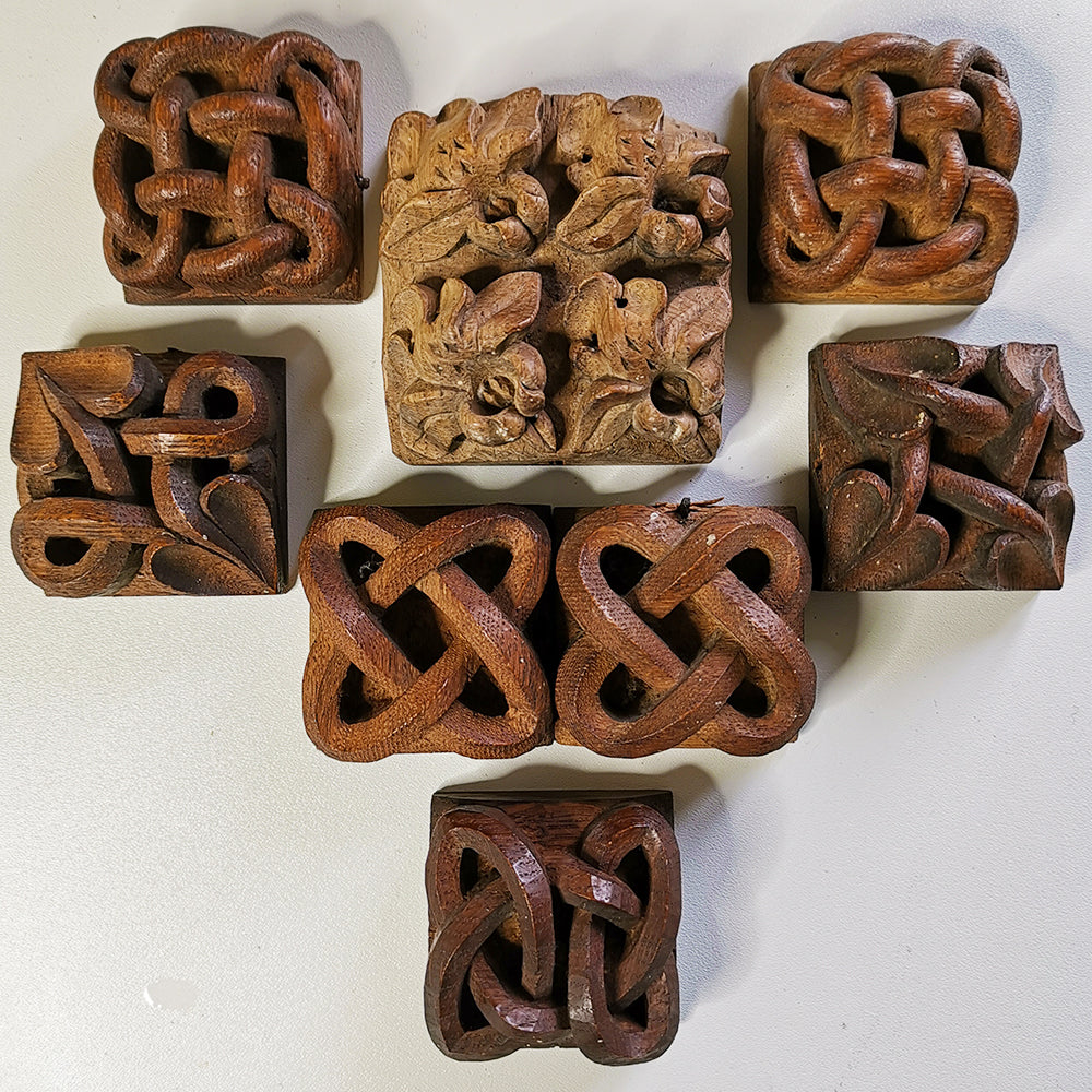 Hand Carved Decorative Samples