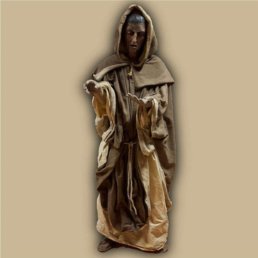 Black Death Museum Monk
