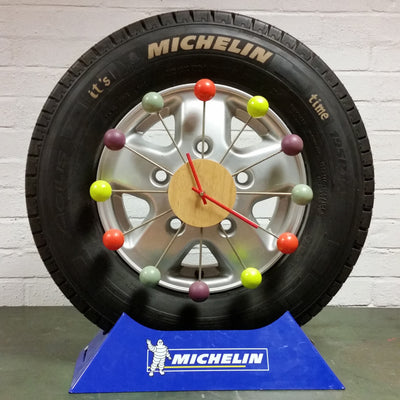 Michelin Tyre Advertising Clock