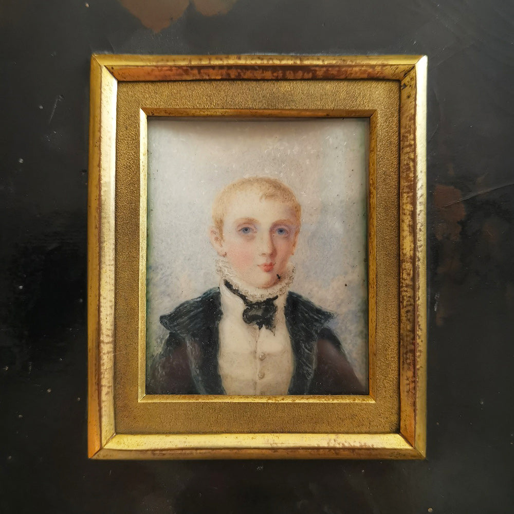 Miniature of a Young Boy