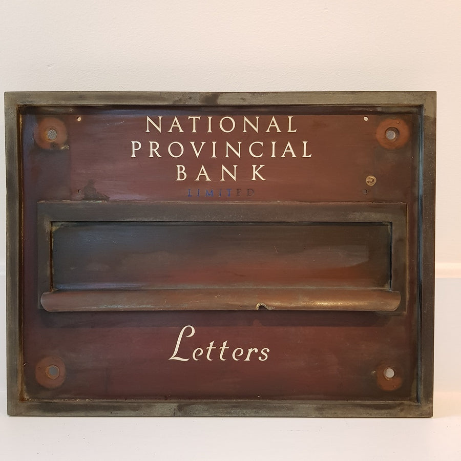 National Provincial Bank Letter Box