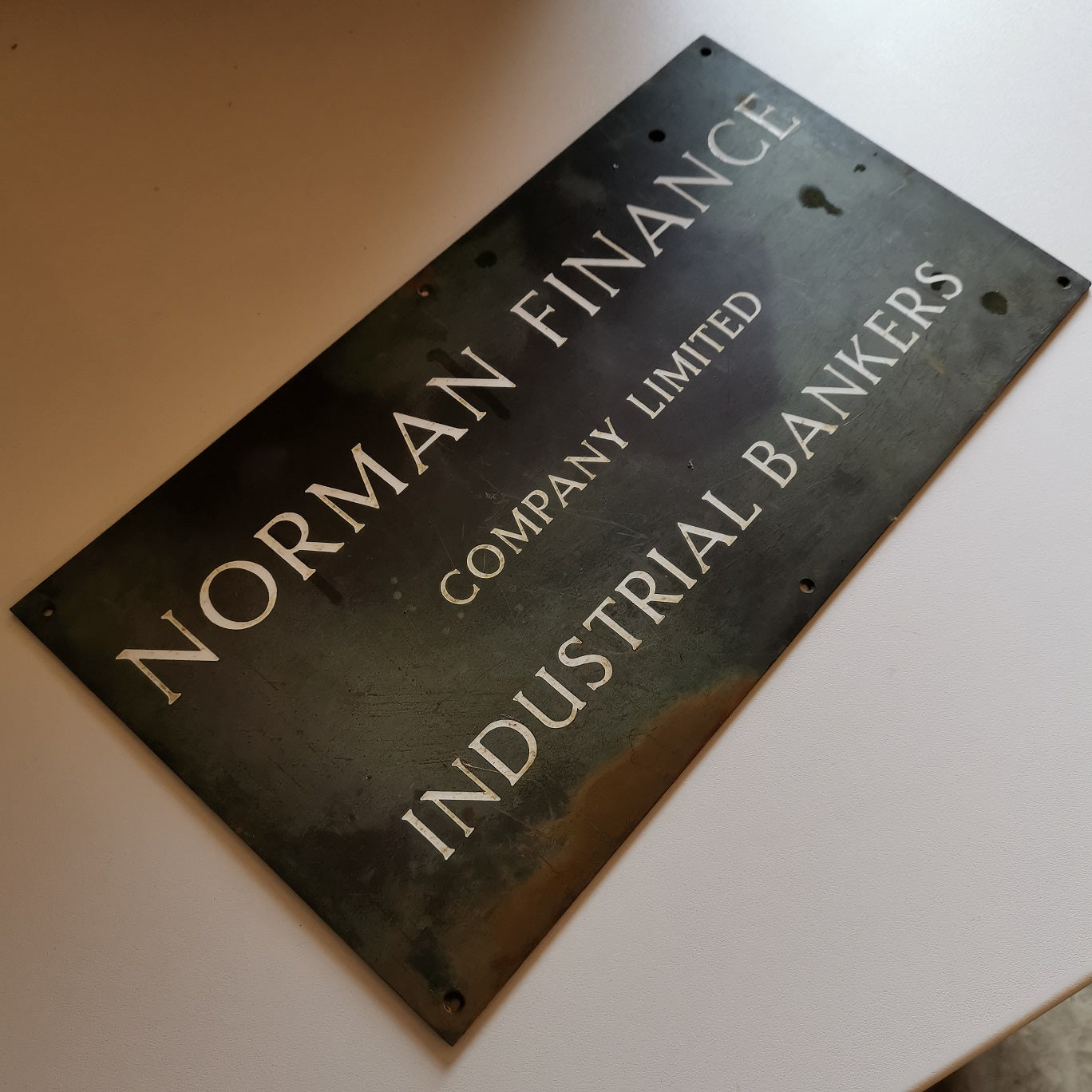 Norman Finance Sign