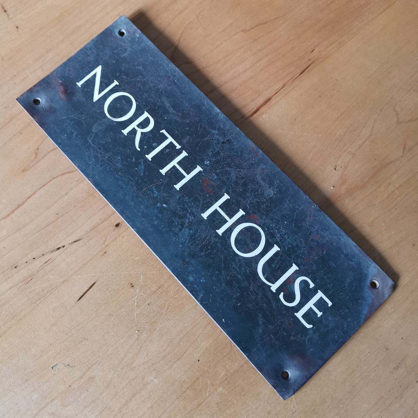North House Sign