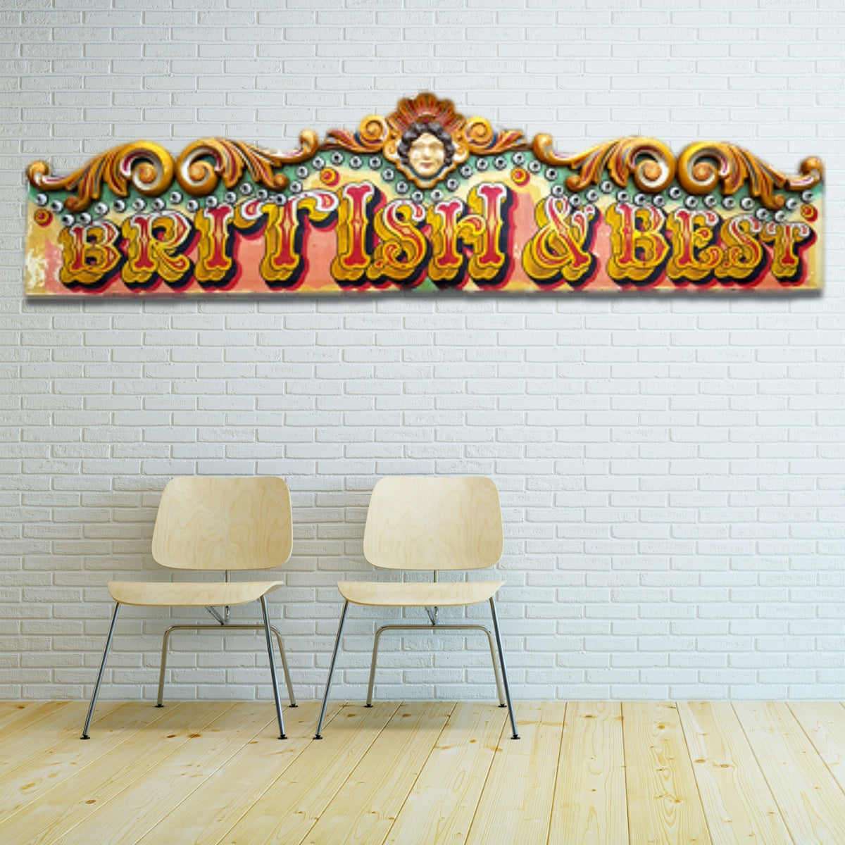 Fairground Organ Top Banner