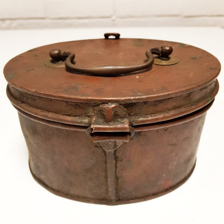 Copper Lidded Caddy