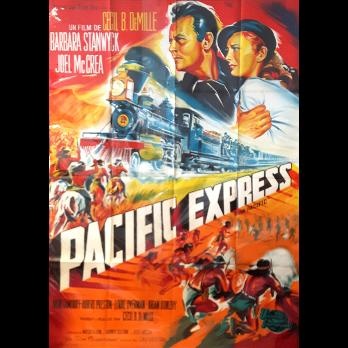 Pacific Express Movie Poster