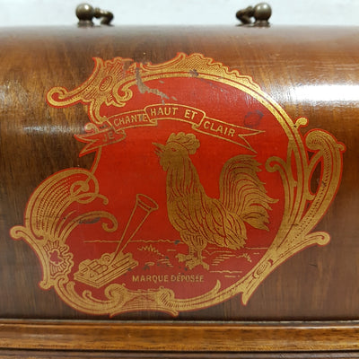 French Clockwork Cylinder Phonograph