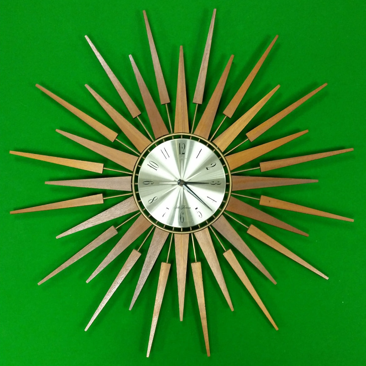 Seth Thomas Starburst / Sunburst Clock