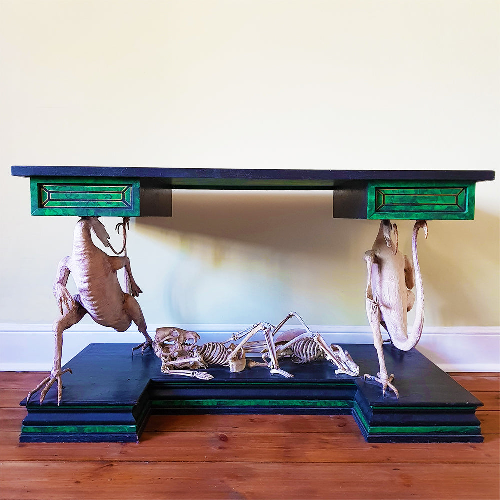 Skeleton Desk