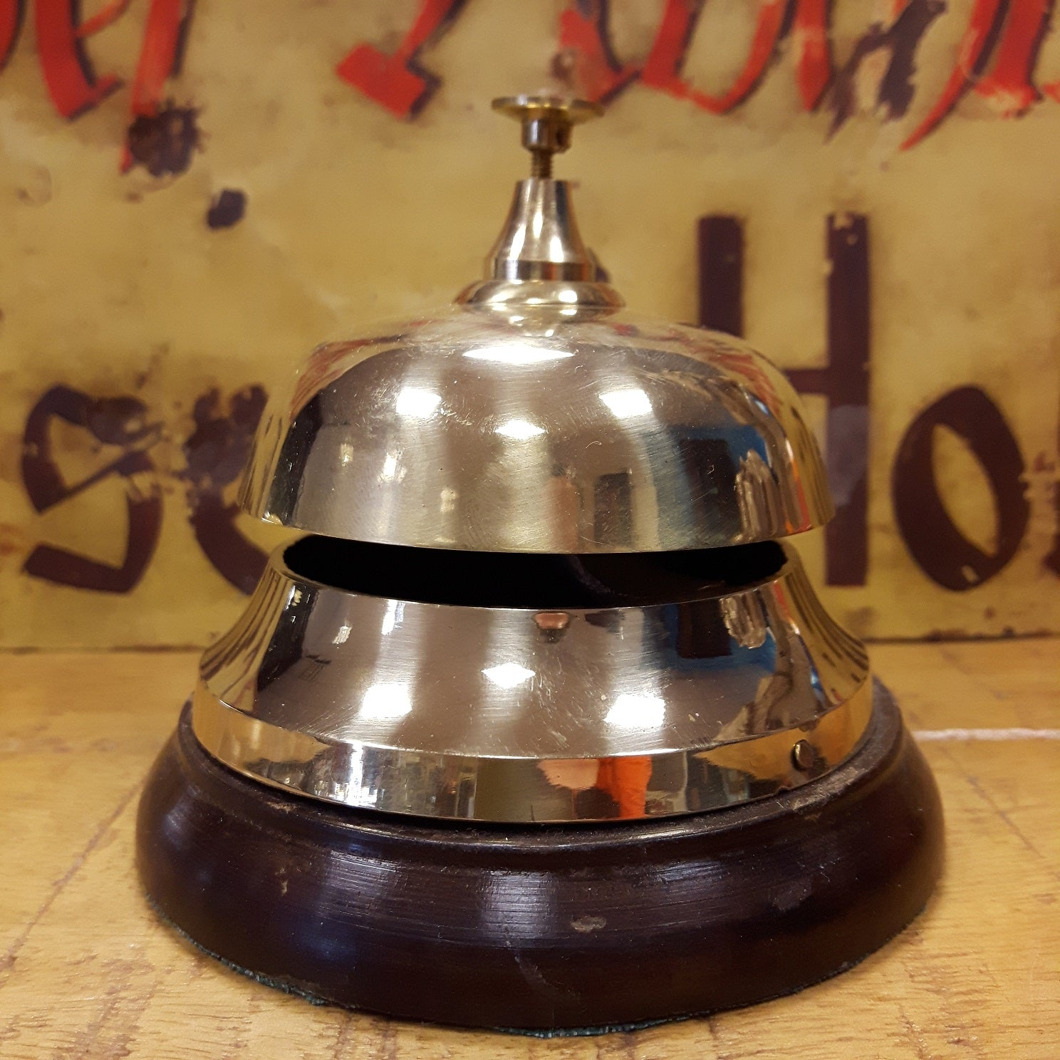 Brass Counter Bell