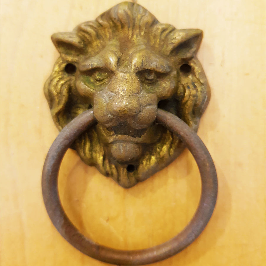 Lion Head Bedroom Door Knocker