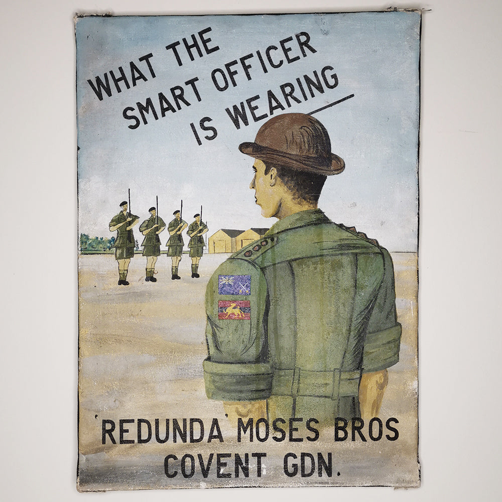 Military Uniform Advertising
